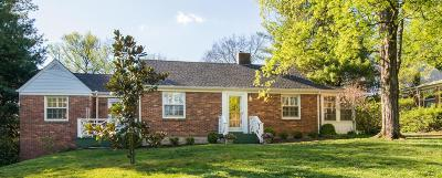 Nashville Single Family Home For Sale: 2902 Woodlawn Dr