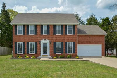 Smyrna Single Family Home Under Contract - Not Showing: 4018 Wisdom Way