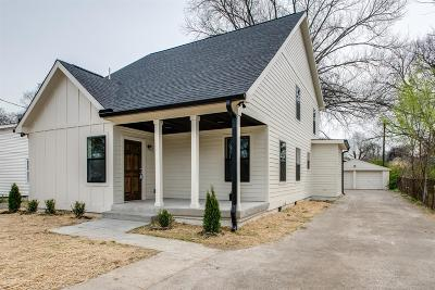 Nashville Single Family Home For Sale: 1516 23rd Ave N