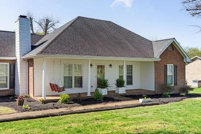 Mount Juliet Single Family Home Under Contract - Not Showing: 618 Canterbury Trl