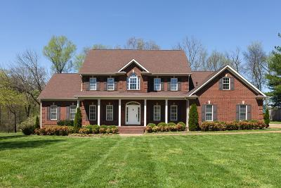 Cheatham County Single Family Home Under Contract - Not Showing: 6595 Harpeth Bend Ct