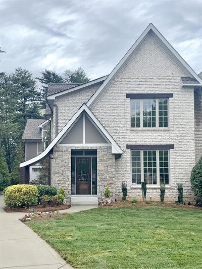 Nashville Single Family Home For Sale: 1120 Granny White Ct