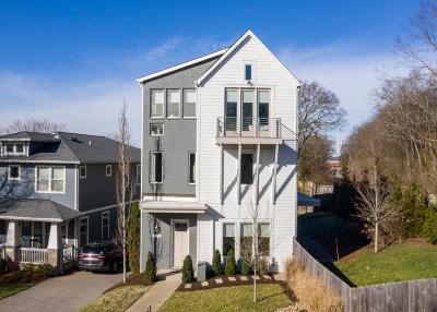 Nashville Single Family Home For Sale: 4100 A Wyoming Ave