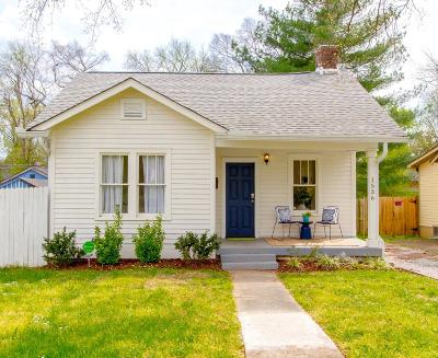 East Nashville Single Family Home Under Contract - Showing: 1536 Douglas Ave