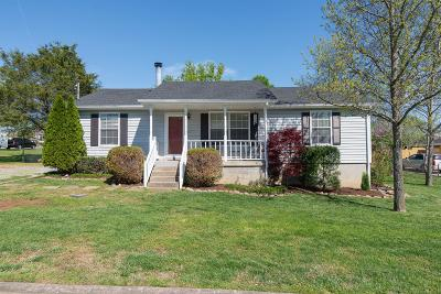 Lavergne Single Family Home Under Contract - Showing: 587 Woodcrest Dr