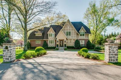 Nashville Single Family Home Under Contract - Showing: 6001 Cargile Rd