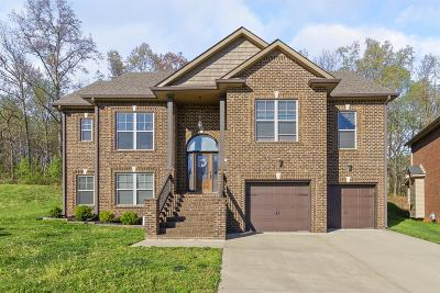 Clarksville Single Family Home For Sale: 121 Roanoke Station Cir