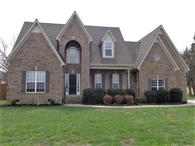 Murfreesboro Rental Under Contract - Not Showing: 912 Springleaf Ct