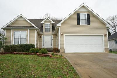 Christian County, Ky, Todd County, Ky, Montgomery County Single Family Home Under Contract - Not Showing: 1052 Freedom Dr