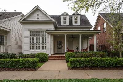 Franklin Single Family Home Under Contract - Not Showing: 211 Morning Mist Ln