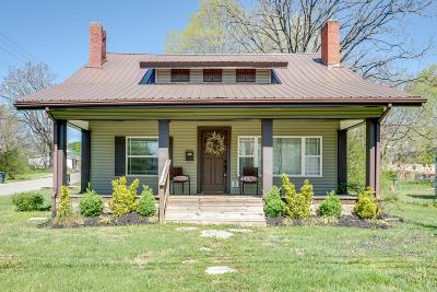 Dickson Single Family Home Under Contract - Showing: 200 North Charlotte St