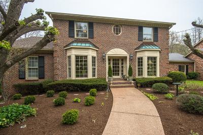 Davidson County Single Family Home Under Contract - Showing: 1472 Tyne Blvd