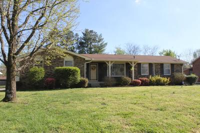 Hendersonville Single Family Home Under Contract - Showing: 112 Homestead Dr
