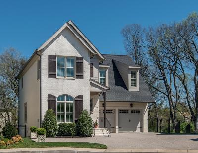 Franklin Single Family Home For Sale: 216 Crosmill Ct
