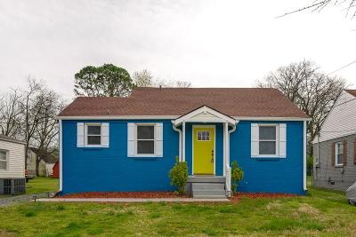 East Nashville Single Family Home Under Contract - Showing: 976 Malquin Dr