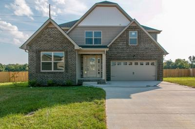 Clarksville Single Family Home For Sale: 586 Silver Oak Court, Lot49