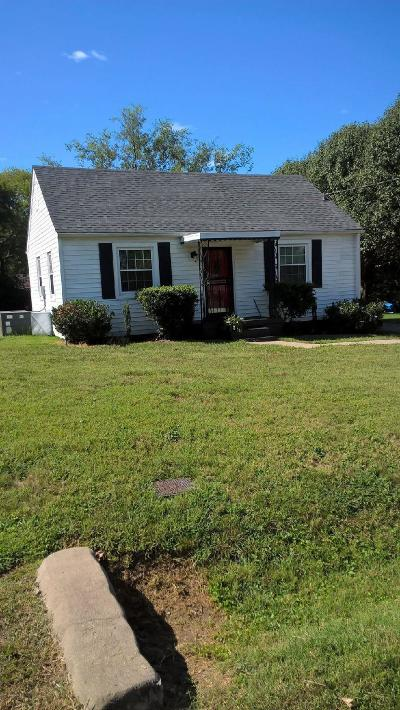 Nashville Single Family Home For Sale: 510 Norton Ave