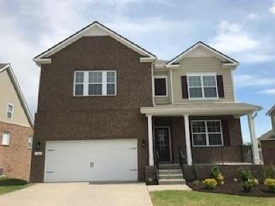 Smyrna Single Family Home For Sale: 5409 High Jump Lot 721