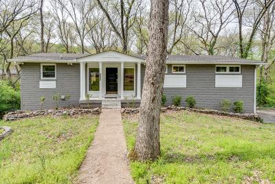 Davidson County Single Family Home For Sale: 5806 Vine Ridge Dr