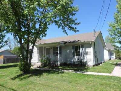 Rutherford County Single Family Home For Sale: 1205 Bradyville Pike