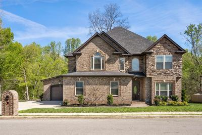 Clarksville Single Family Home Under Contract - Not Showing: 2551 Everwood Ct