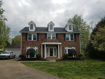 Mount Juliet Single Family Home Under Contract - Showing: 720 Creek Landing Cir