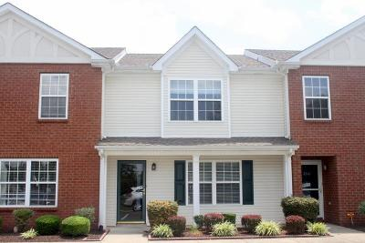 Murfreesboro Condo/Townhouse Under Contract - Not Showing: 2503 Comanche Way