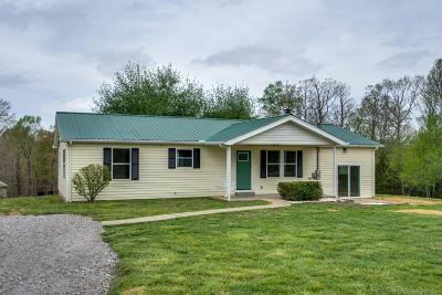 Dickson Single Family Home For Sale: 390 Burgess Rd