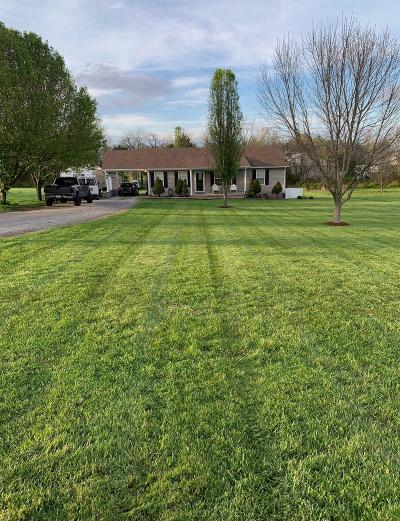 Lewisburg Single Family Home Under Contract - Not Showing: 2608 Valley Ln