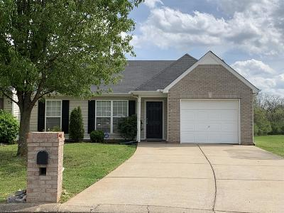 Single Family Home Under Contract - Not Showing: 2097 Stoney Meadow Dr