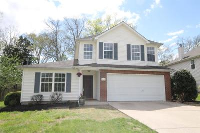 Smyrna Single Family Home Under Contract - Showing: 213 Sam Davis Dr