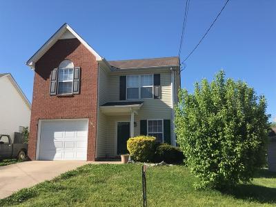 Lavergne Single Family Home For Sale: 1326 E Nir Shreibman Blvd