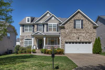 Nolensville Single Family Home Under Contract - Showing: 1409 Peppermint Ln