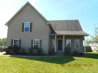 Christian County, Ky, Todd County, Ky, Montgomery County Single Family Home For Sale: 3426 Foxrun Ln