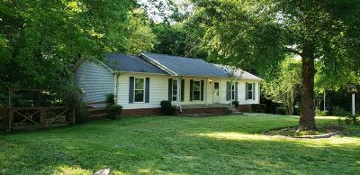 Ashland City Single Family Home For Sale: 307 Sanders Ln