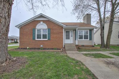 Clarksville Single Family Home Under Contract - Not Showing: 1948 Timberline Way