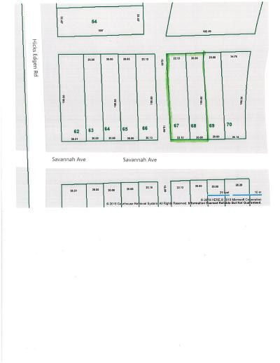 Pleasant View Residential Lots & Land For Sale: 67 Savannah Ave
