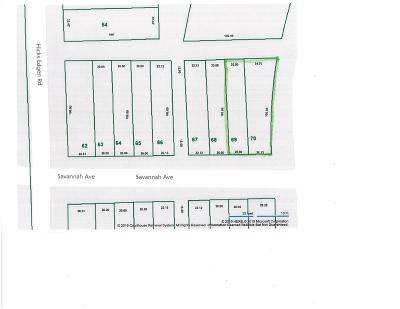 Pleasant View Residential Lots & Land For Sale: 69 Savannah Ave