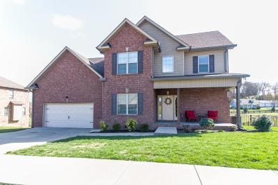 Lebanon Single Family Home For Sale: 208 Hickory Pointe Dr
