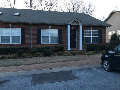 Thompsons Station  Rental Under Contract - Not Showing: 1201 Cashmere Dr
