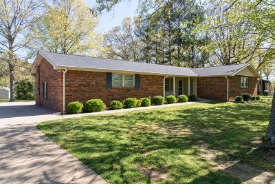 Kingston Springs Single Family Home Under Contract - Showing: 337 Harpeth View Trl