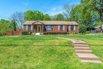 Nashville Single Family Home For Sale: 3360 Mimosa Drive