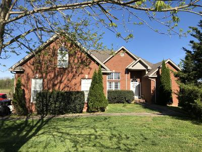Clarksville Single Family Home For Sale: 2230 Davidson Graveyard Rd