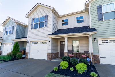 Murfreesboro Condo/Townhouse Under Contract - Not Showing: 922 Dahlia Dr