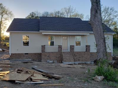 Shelbyville Single Family Home Under Contract - Showing: 121 Blue Grass Dr