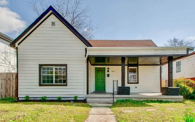Nashville Single Family Home For Sale: 1810 15th Ave N