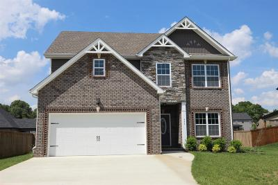 Clarksville TN Single Family Home For Sale: $264,500