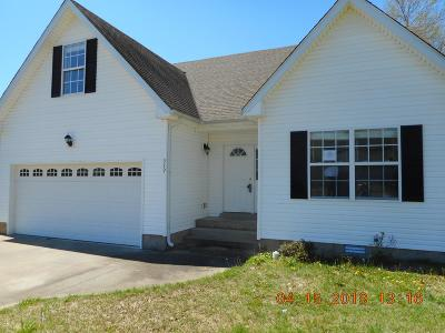 Clarksville Single Family Home Under Contract - Showing: 349 Chalet Cir