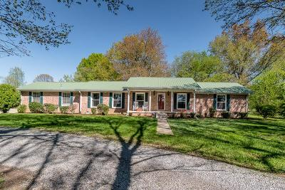 Sumner County Single Family Home Under Contract - Not Showing: 944 Tyree Springs Rd