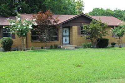 Nashville Single Family Home For Sale: 511 Glenpark Dr